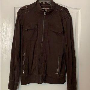 Express zip up jacket/sweatshirt.